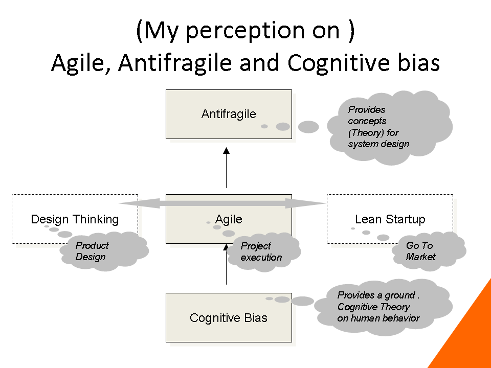 agile, antifragile and cognitive bias